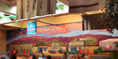Dining Room and Mural Sadies final