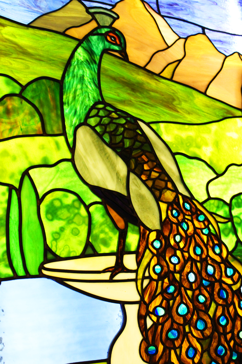 Peacock Glass Close Up final