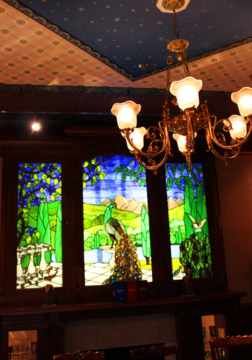 Peacock Mural and Ceiling final
