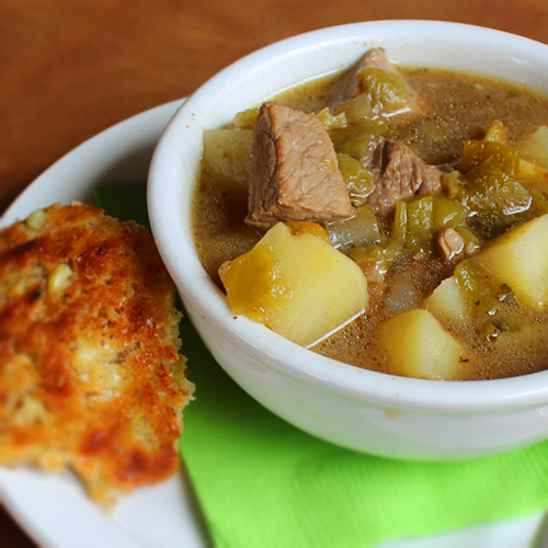 Green Chile Stew Santa Fe School of Cooking