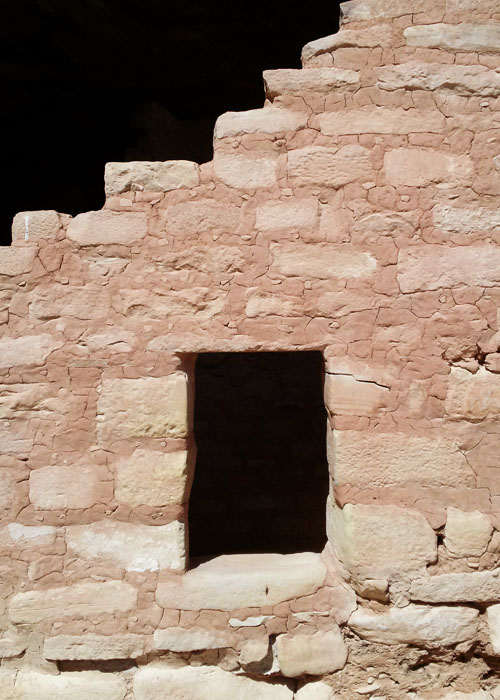 Long House Window Detail Mesa Verde