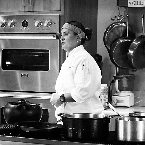 Michelle Taking Questions Santa Fe School of Cooking