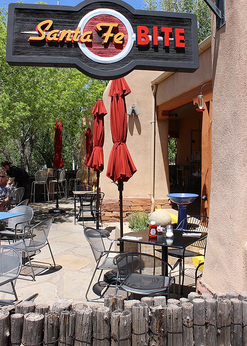 Outdoor Patio Santa Fe Bite