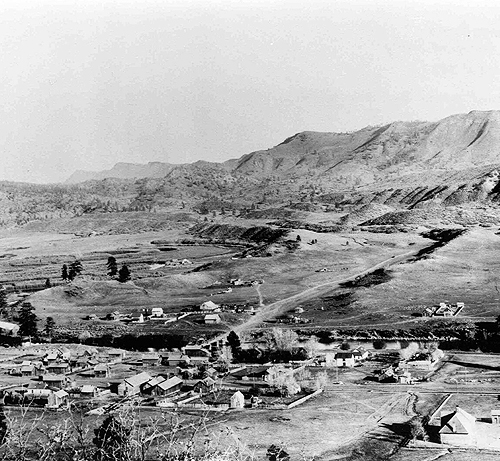1897 Animas City from Animas Mountain