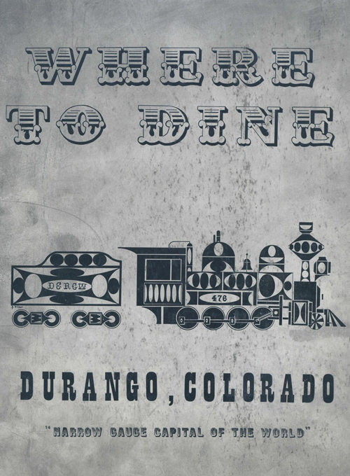 Durango Dining Guide 1960s