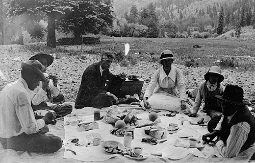 Picnic Animas City Durango 1915