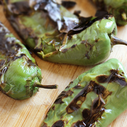 Char Roasted Chiles