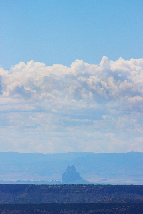 Shiprock from Mesa Verde