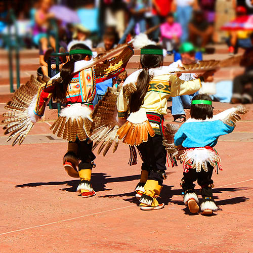 12 Young Eagle Dancers