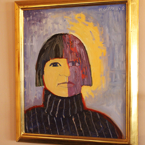 Painting of Mabel Dodge