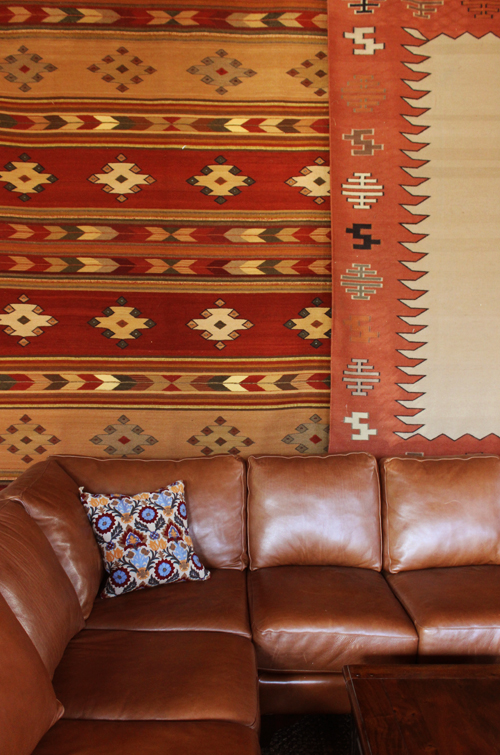 Sofa and Rugs
