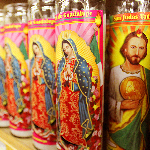 Bodes Our Lady Candles