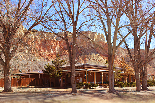 Dining Hall Ghost Ranch