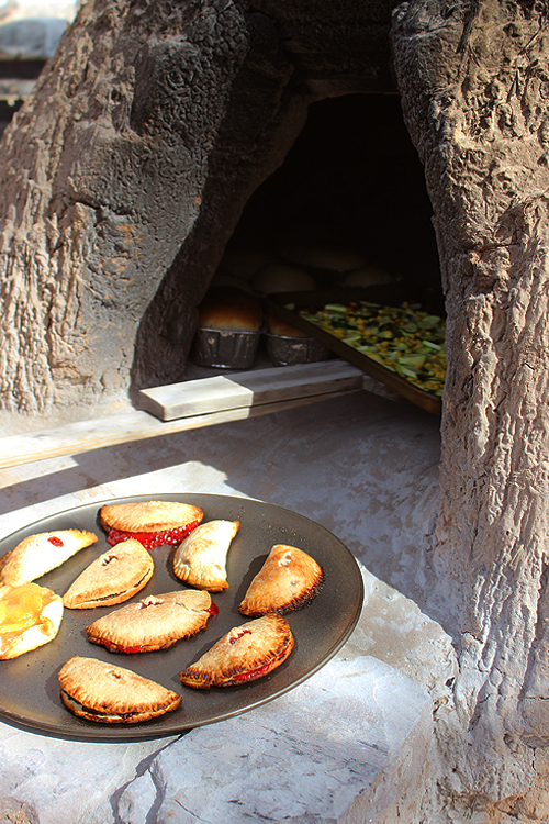 Emp and Squash in Horno