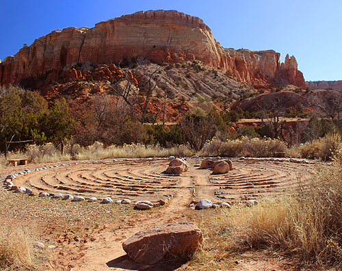 Ghost Ranch Labyrinth