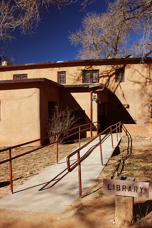 Ghost Ranch Library