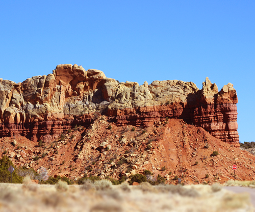 Ghost Ranch area Rock Formations