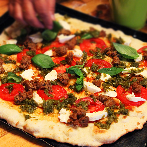 Normas Pizza w Basil