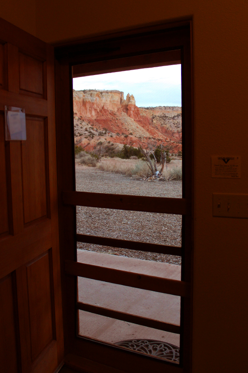 View Thru Door