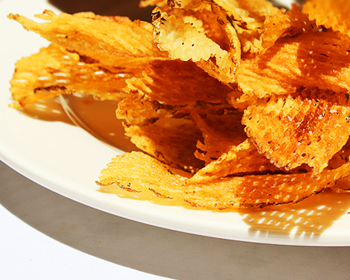 Rosemary Potato Chips Santacafe